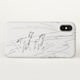 Pferde iPhone X Hülle
