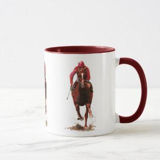 Pferde, Jockeymann Tasse