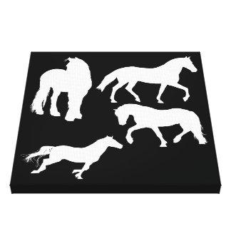 Pferde Leinwanddruck