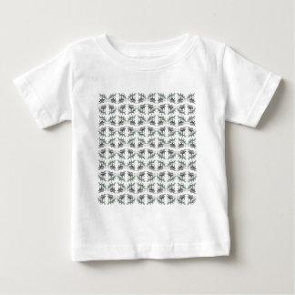 Pferde Muster liniert Baby T-shirt