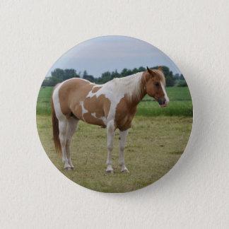 Pferde Runder Button 5,7 Cm