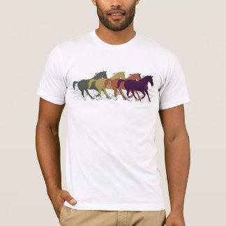 Pferde. Tiere/Landart T-Shirt