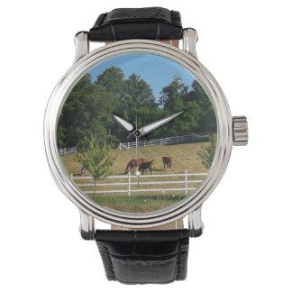 Pferde Uhr