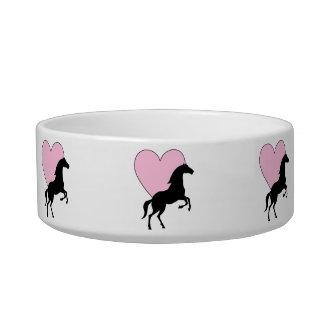 Pferde und Liebe Napf