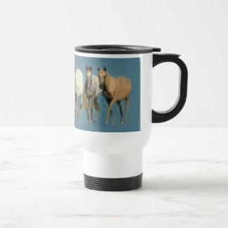 Pferde wild und wunderbare Tasse