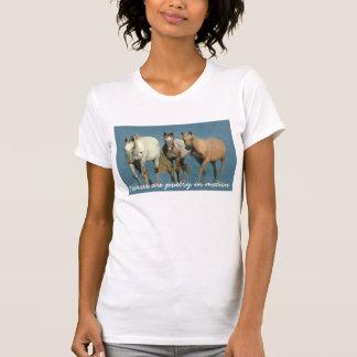 Pferde wild und wunderbares Damen-Shirt T-Shirt