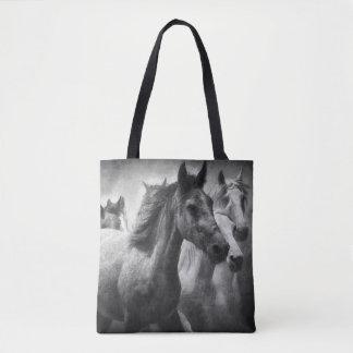 Pferdeansturm-Taschen-Tasche Tasche