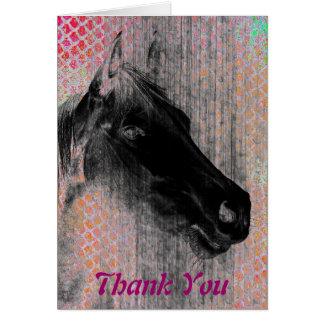 Pferdeartige 2, danke karte