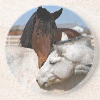 pferdeartiger Western der Pferdebauernhof-Ranch Getränkeuntersetzer