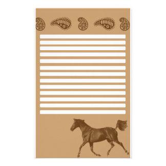 Pferdebriefpapier Personalisierte Druckpapiere