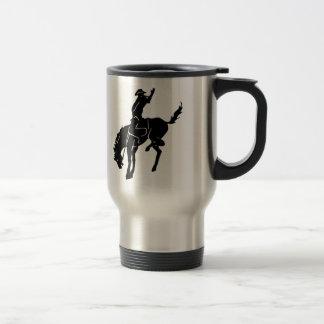 Pferdecowboy-Tasse Edelstahl Thermotasse