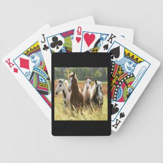Pferdefahrrad-Spielkarten Bicycle Spielkarten