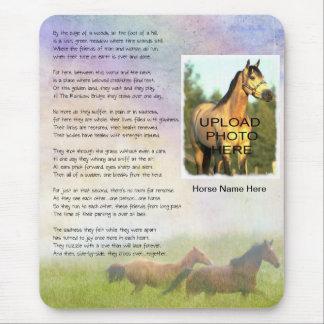 Pferdefertigen erinnerungsregenbogen-Brücke für Mousepads