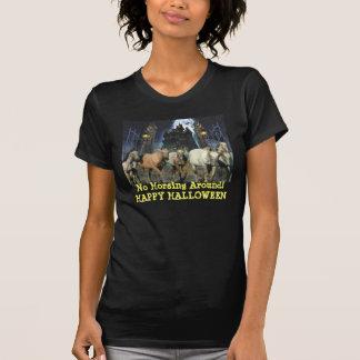Pferdehalloween-Damen-T - Shirt
