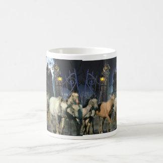 Pferdehalloween-Tasse