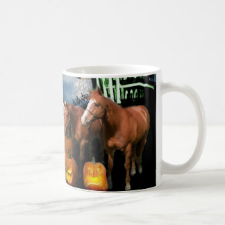 Pferdehalloween-Tasse Tasse