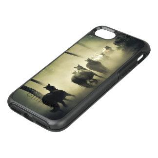 Pferdeherde im Nebel OtterBox Symmetry iPhone 8/7 Hülle