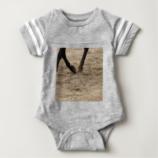 Pferdehufe Baby Strampler