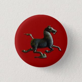 Pferdejahr-chinesischer Runder Button 2,5 Cm