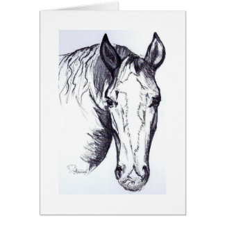 Pferdekarte Karte