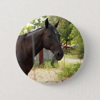 Pferdeknopf Runder Button 5,1 Cm