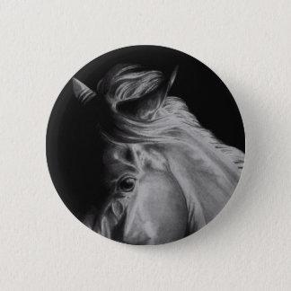 Pferdeknopf Runder Button 5,7 Cm