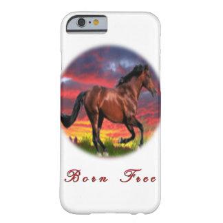 Pferdekunstgeschenke Barely There iPhone 6 Hülle