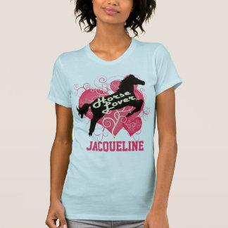 Pferdeliebhaber personalisierte Jacqueline T-Shirt