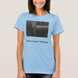 Pferdeliebhaber-Willkommen! T-Shirt