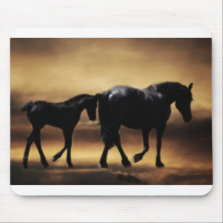 Pferdemamma und I Mousepad