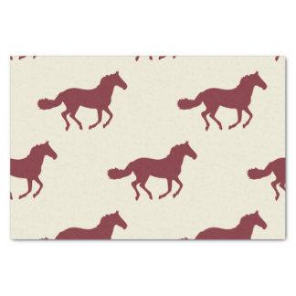 Pferdemuster Seidenpapier