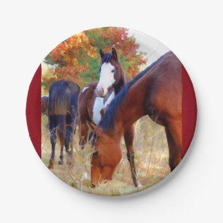 PferdeParty Pappteller
