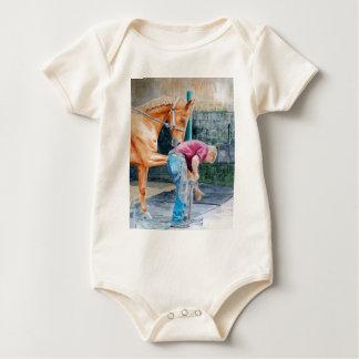 PferdePedicure Baby Strampler