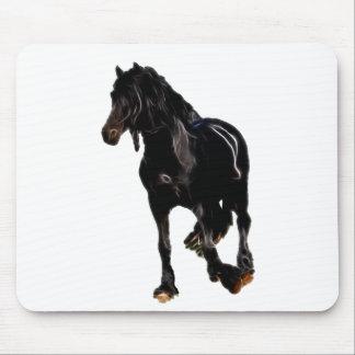 Pferdeplötzliche Drehung Mauspad