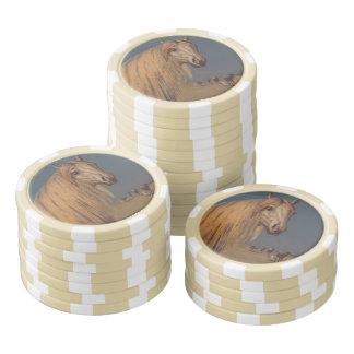 PferdePoker-Chip-Glückarabischer Poker Chips Sets
