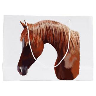 Pferdeporträt Große Geschenktüte