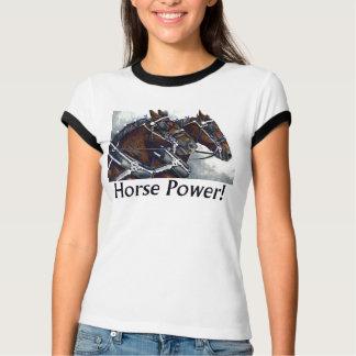 PferdePower! - Percheron Pferde T-Shirt