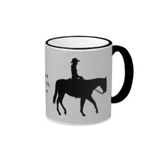 PferderateTasse Ringer Tasse