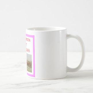 Pferderennen Kaffeetasse