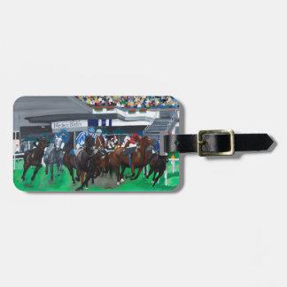Pferderennen Adress Schild