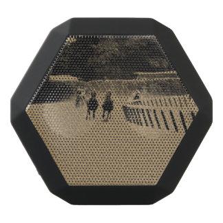 Pferderennen-schlammiger Bahn-Schmutz Schwarze Bluetooth Lautsprecher