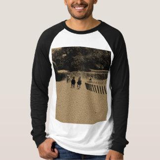 Pferderennen-schlammiger Bahn-Schmutz T-Shirt