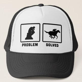 Pferderennen Truckerkappe