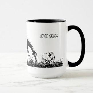 Pferderichtungs-Tasse Tasse