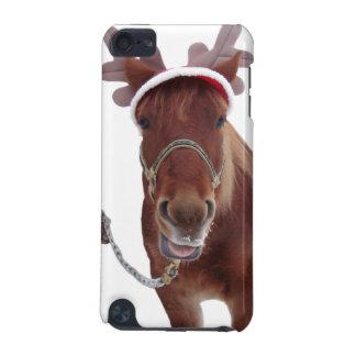 Pferderotwild - Weihnachtspferd - lustiges Pferd iPod Touch 5G Hülle