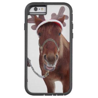 Pferderotwild - Weihnachtspferd - lustiges Pferd Tough Xtreme iPhone 6 Hülle