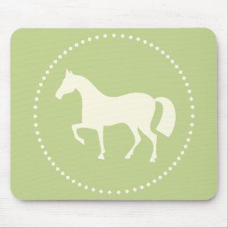 PferdeSilhouette Mauspad