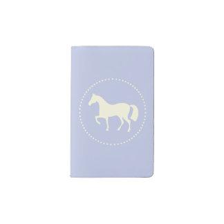 PferdeSilhouettetasche moleskine Anmerkungsbuch Moleskine Taschennotizbuch