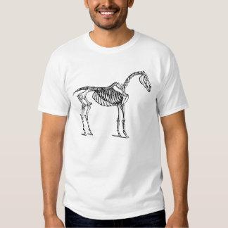 Pferdeskelett T-Shirts