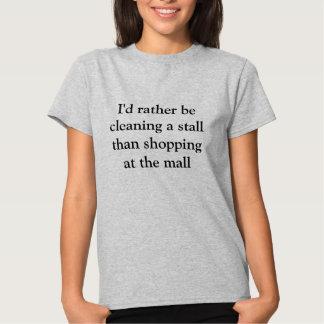 Pferdestall-Reiniger-T - Shirt